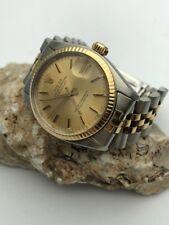 Rolex Oyster Perpetual Datejust 31mm Edelstahl/18 K Gold an Jubiléband Ref. 6827