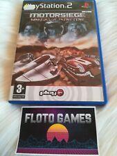Jeu Motorsiege Warriors Of Primetime Playstation 2 PS2 Complet CIB - Floto Games