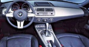 BMW E85 E86 2003-2008 Z4 Genuine OEM Brushed Aluminum Interior Trim Kit