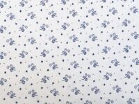 Moda Indigo Gatherings Scroll Floral 100% Cotton Fat Quarter, Half or Whole M...