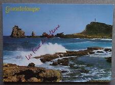 GUADELOUPE LA POINTE DES CHATEAUX   postcard