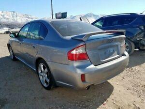2005-2009 Subaru Legacy rear bumper silver