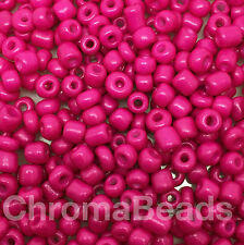50 Gramos De Semillas De Vidrio Cuentas-Opaca, tamaño 6/0 (aprox. 4 Mm) - elección de colores, Artesanales
