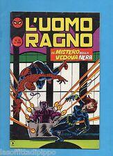 L'UOMO RAGNO - CORNO 2^ SECONDA SERIE - N.15- 17 GIUGNO 1982 -NON DI RESA