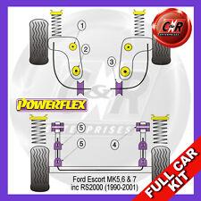 Ford Escort MK5, 6 (90-01) Powerflex Completo Juego Cojinete