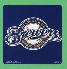 10 Milwaukee Brewers Logo - Large Stickers - Major League Baseball