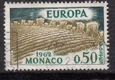 TIMBRE MONACO OBL N° 572   EUROPA LA MOISSON