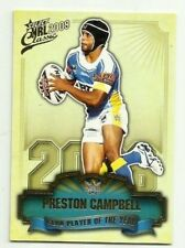 2009 NRL SELECT CLASSIC TITANS PRESTON CAMPBELL CLUB PLAYER OF THE YEAR CP5 CARD