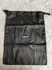 Dolce & Gabbana Black Dust Bag Shoe Storage Bag 39cm X 30cm