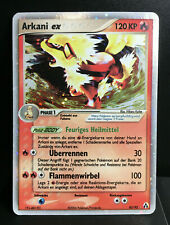 Arcanine Ex Ex Legend Maker Near Mint German Pokemon Card