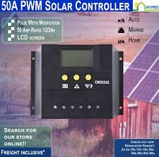 50A 12/24V Solar Regulator CM5048 Ideal for caravans, RVs,12/24volt batt banks