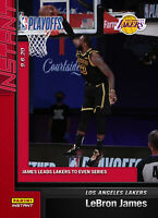 LeBron James 2019-20 Panini Instant #186 SP Even The Series vs. Rockets SSP 💪🏽