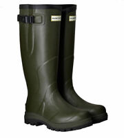 WAREHOUSE SALE New Mens Balmoral Classic Hunter Wellington Boots Green Size 9