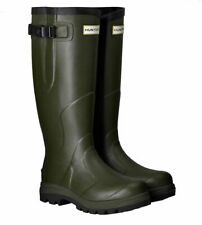 WAREHOUSE SALE New Mens Balmoral Classic Hunter Wellington Boots Green Size UK 9
