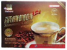 6 Box Slim Drink Natural Diet Coffee Slim Weight Loss Chinese Burn Coffee