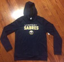 New! Buffalo Sabres Hooded Sweatshirt Boys XL 16/18