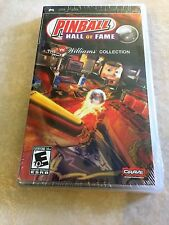 Pinball Hall of Fame: The Williams Collection (Sony PSP, 2008) PSP NEW