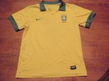 Nike Brazil (Brasil) National Soccer (football) Dri-Fit Jersey Size Boys Medium