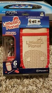 Playstation Vita Little Big Planet Case by Power A with Sackboy Bobble Head New