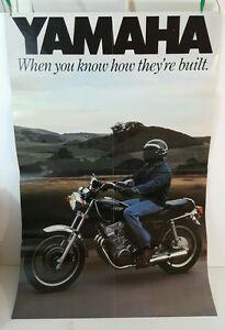 1978 YAMAHA SE750-SE MOTORCYCLE BROCHURE Poster