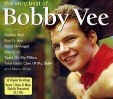 BOBBY VEE * 50 Greatest Hits * Import 2-CD BOX SET * Original Songs *NEW, SEALED