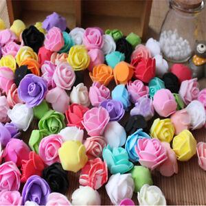 Wholesale 200-500PCS 3-4CM  PE Foam Roses Flower DIY Wedding  Decor