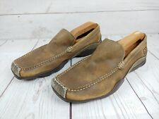 Skechers Phoenix Sand Leather Driving Loafers Slip On Shoes 60660 Mens 10.5 M