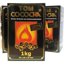 Tom Cococha Premium Gold Kokoskohle - 3kg