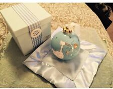 Calandra Baby Boy Ornament With Blanket