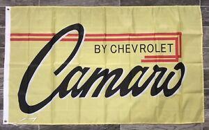 Chevy Camaro Banner 3x5 Ft Flag Garage Shop Camaro Corvette Colorado