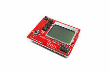 Arduino UNO LCD4884 joystick genuine Keyes shield nokia capteur de flux Workshop