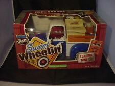 M&M's Sweet Wheelin' Red's Garage Candy Dispenser NEW Blue Truck IN BOX