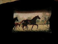 Brown Horse Tapestry Pillow Cover