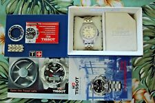 OLD STOCK TISSOT SEASTAR 660 STAINLESS STEEL SILVER DIAL DIVER'S WATCH BOX SET