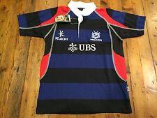 HONG KONG NWT Youth Kukri HKRFU Striped Rugby Jersey- Size 9/10- Retails $45
