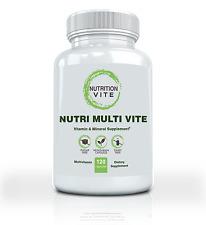Vegetarian Multivitamin Dietary Supplement. Whole Body Health - 120 Capsules