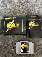 The Legend of Zelda: Ocarina Of Time - (Nintendo 64) N64 PAL Version