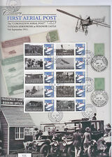 BC-353 2011 First Aerial Post Centenary Business Smilers Sheet-fine used