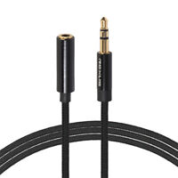 NE_ Headphone Extension Cable 3.5mm Jack Male to Female Aux Audio Extender Cord