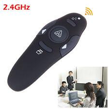 2.4G Hz USB Wireless PPT PowerPoint Presenter Remote Control Laser Pointer Pen