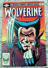 Wolverine #1 Marvel First Limited Series X-Men Frank Miller 1982