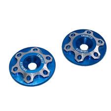 Team Trinity 1/10th Wing Mount Washers (Blue) (2) (TRITEP3051)