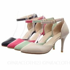 Medium (B, M) Stiletto Synthetic Casual Heels for Women