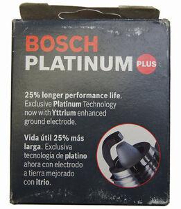Bosch Platinum Plus Spark Plugs #4024 Pack of 4 NOS