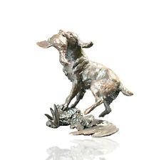 More details for bronze springer spaniel dog retrieving ltd ed 150 michael simpson. 355g.
