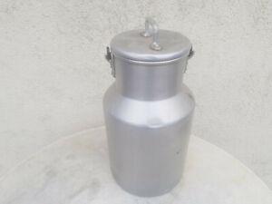 pot à lait ancien en aluminium,4 litres