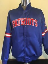 Throwback New England Patriots Mitchell & Ness Jacket & Vintage Pin