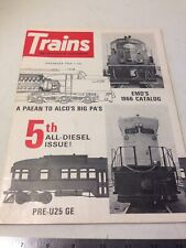 Trains The Magazine Of Railroading November 1966