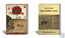 Complete Trapper Guide to Trapping Trap-Making Build Deadfalls Snares Books ~CD