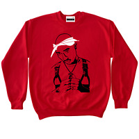 2Pac Tupac Crewneck To Match Retro Jordans 11 Win Like 96 Gym Red Suede 5 4